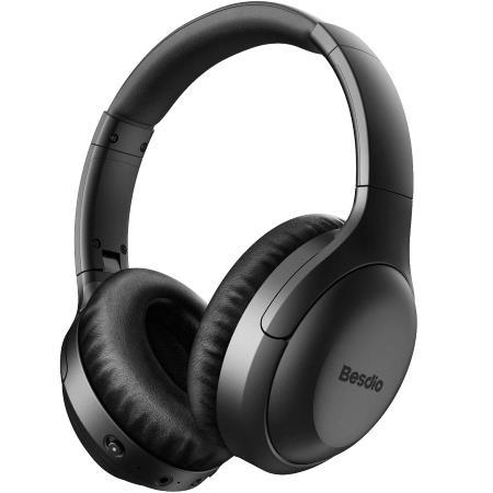 BesDio Over Ear Wireless Bluetooth Headphones