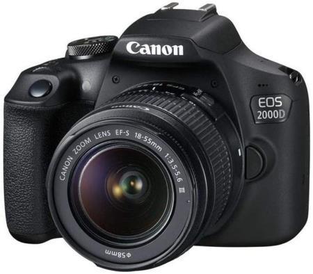 Canon EOS 2000D (Rebel T7) Digital SLR Camera