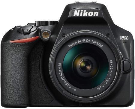 Nikon D3500 + AF-P 18–55 Non VR Kit